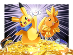 Pikachu and Torchic Tag Team! (Mystery Dungeon)