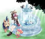 Fountain break