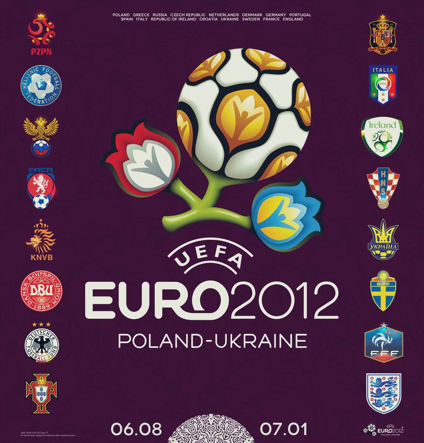 UEFA Euro 2012 by mariotullece