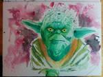 [Watercolor Practice] Yoda