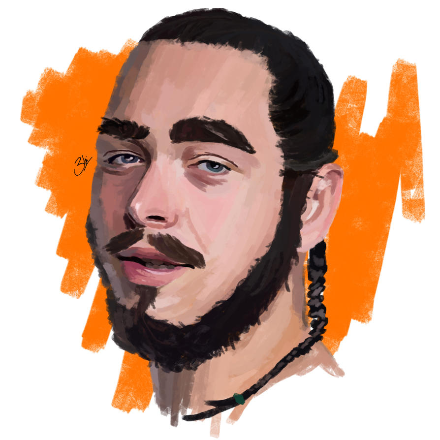 Post Malone Drawing: Post Malone By Metabolicx7 On DeviantArt