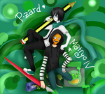 Comission 1 P-zard and Matryo N