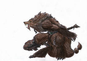 werewolf by Ominously