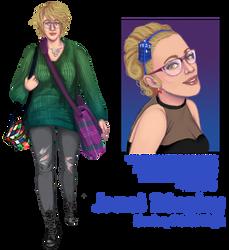 Janet Bingley - Pixel High Round 1