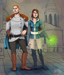 Sybille and Cullen