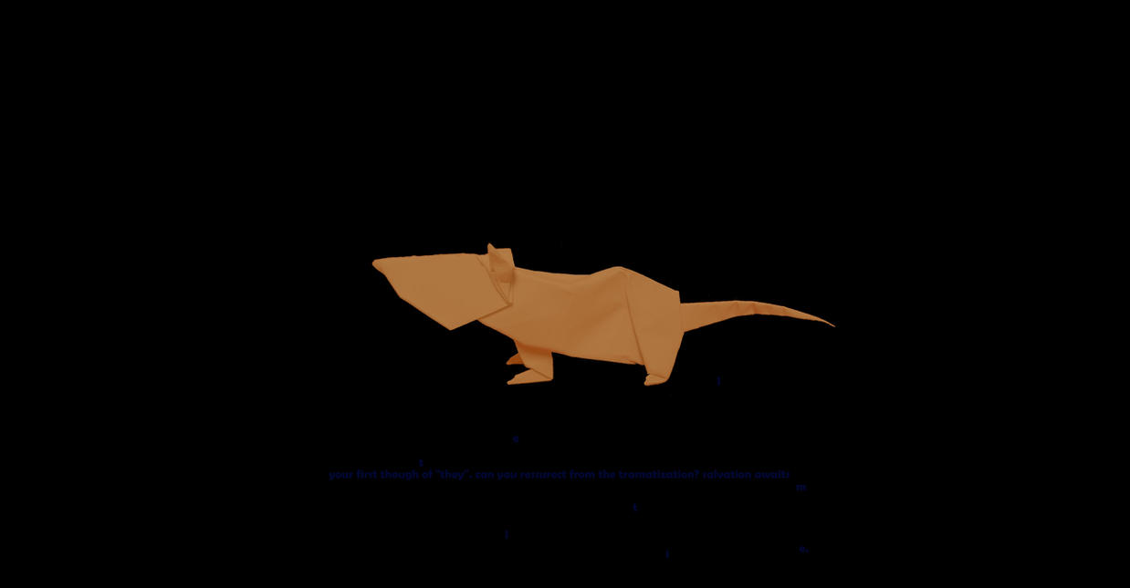 Origami rat by papercraft4you on deviantart origami rat by papercraft4you jeuxipadfo Images