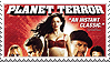 Planet Terror Stamp by violet-waves