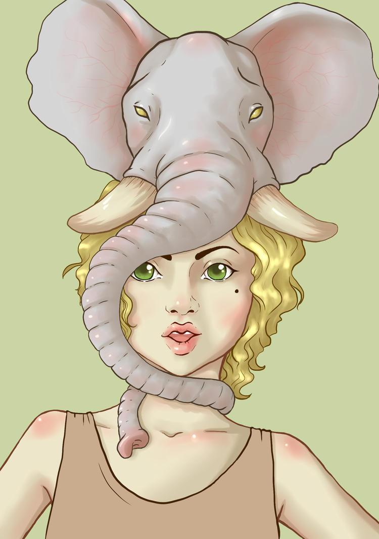 ElephantHat2 by bekkiki