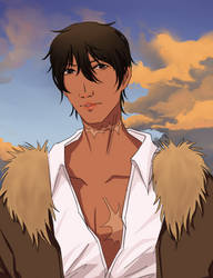 Hiro but he's hot now