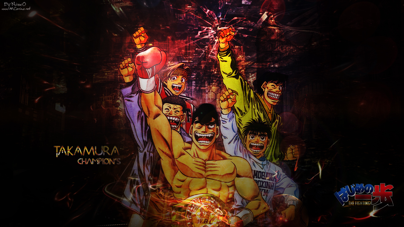Hajime No Ippo Wallpaper By Mcnicoxo On Deviantart