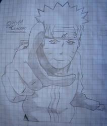 Naruto Uzumaki Lineart Dibujo by MCnicoxo