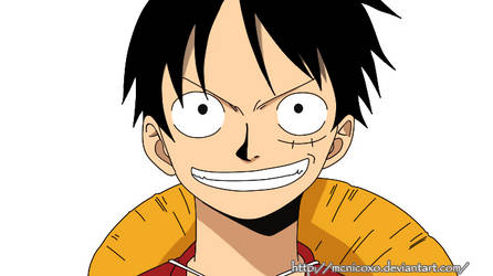 One Piece Luffy Vector- by MCnicoxo