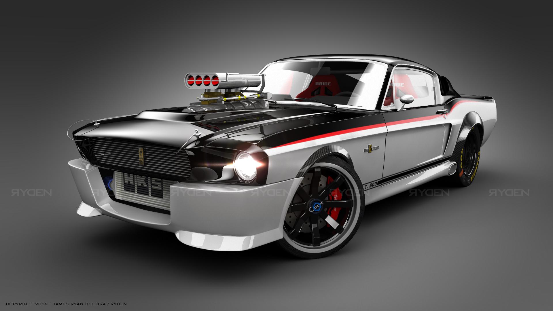 Mustang 1969 front by ryden-belgira