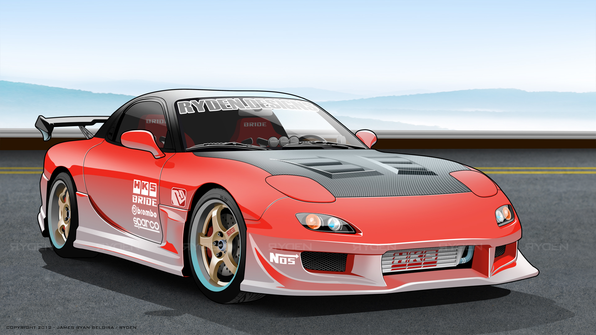Mazda rx7 by ryden-belgira
