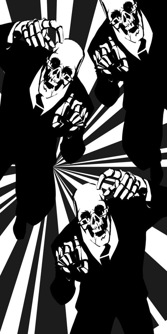 Spooky Scary Skeletons by agentsmithtrollplz