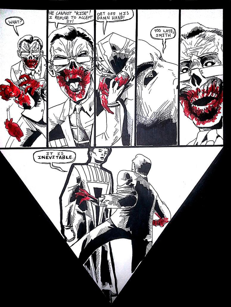Matrix: Blackest Night p.3 by agentsmithtrollplz