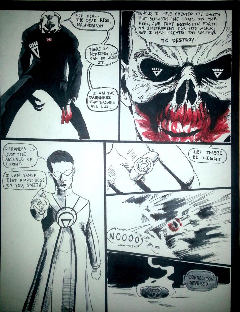 Matrix: Blackest Night p.5 by agentsmithtrollplz