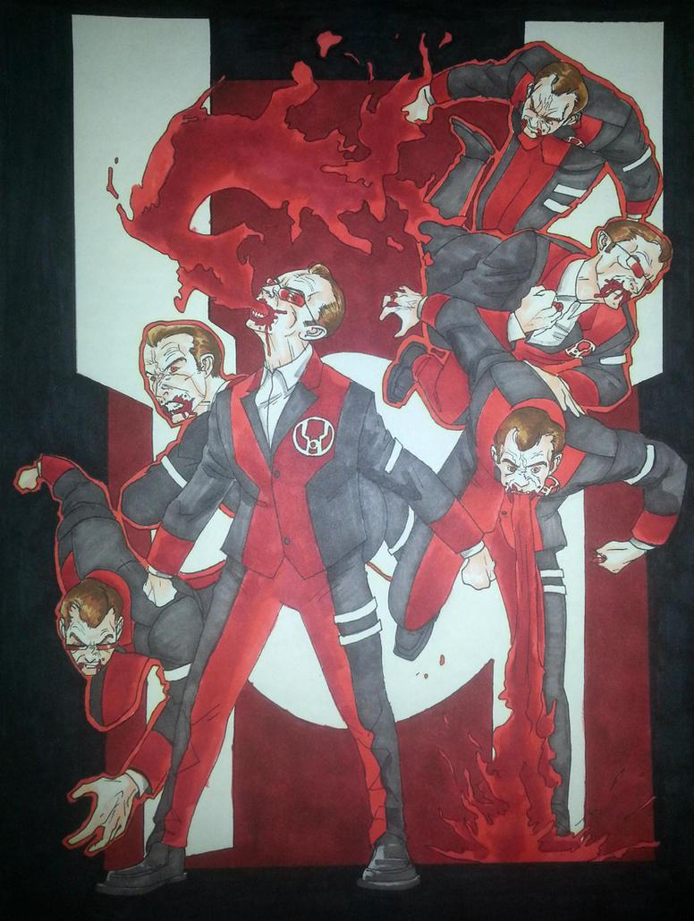 Red Lantern Smith 3 by agentsmithtrollplz