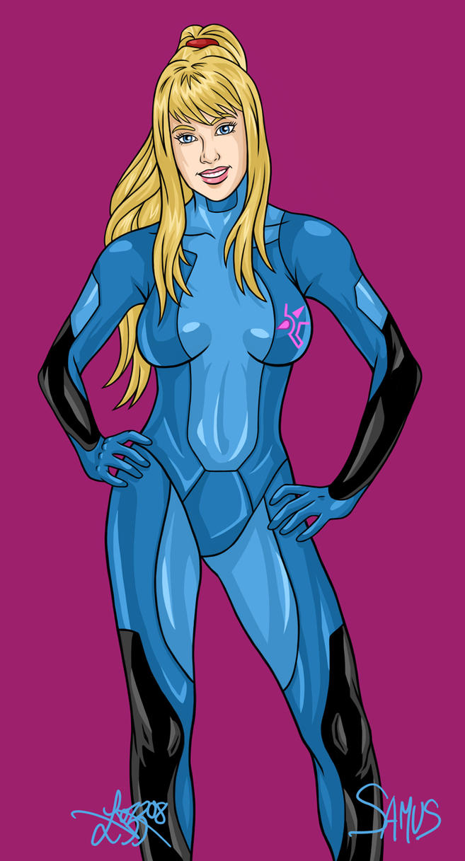 Samus Aran - March 2008 by bratchny