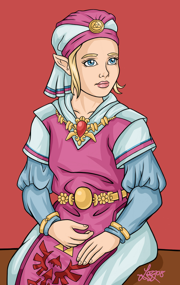 Ocarina Of Time Princess Zelda By Bratchny On Deviantart