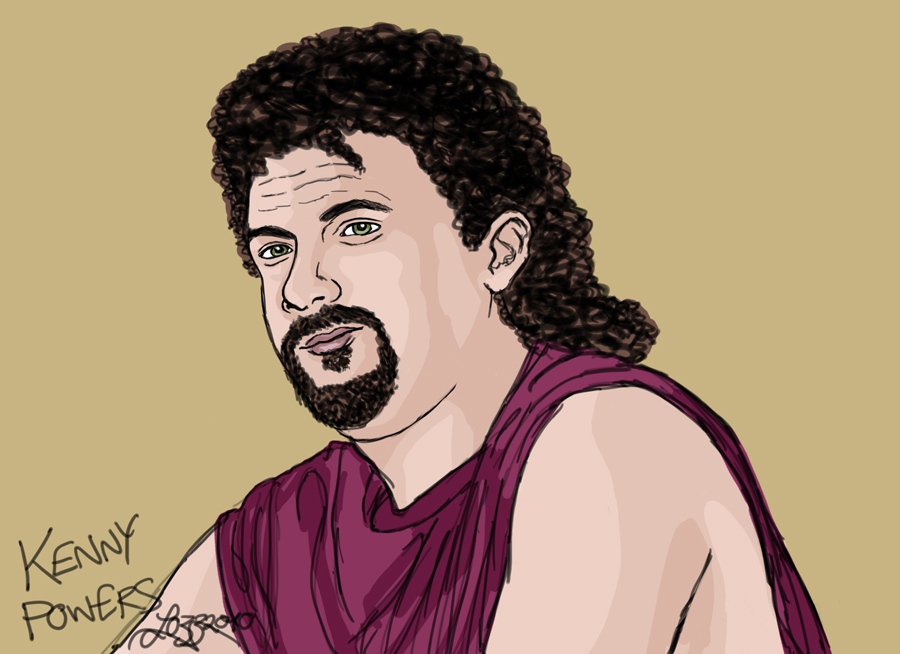 Kenny Powers by bratchny