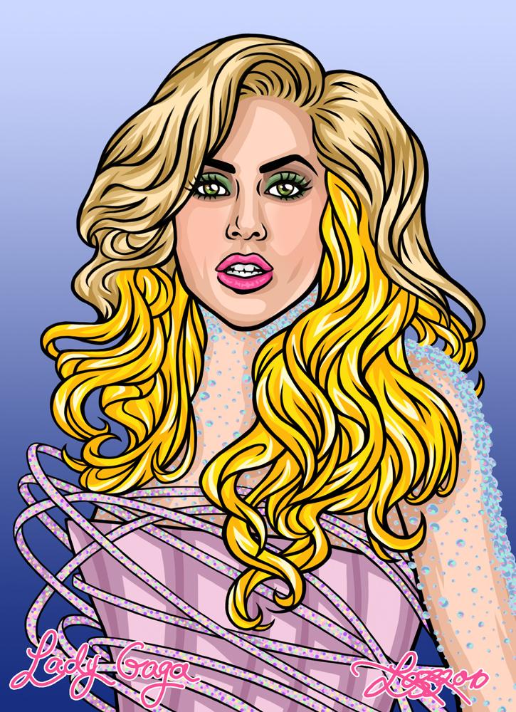 Lady Gaga by bratchny