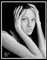 Portrait of Angelina Jolie by bratchny