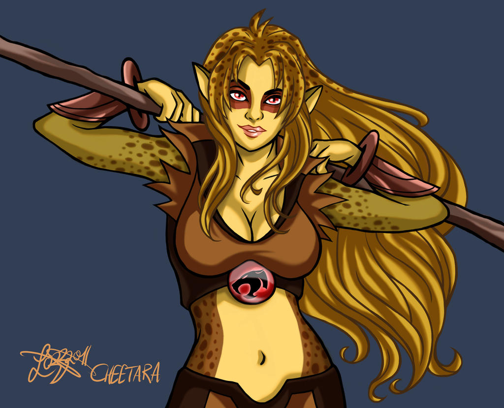 Thundercats - Cheetara by bratchny