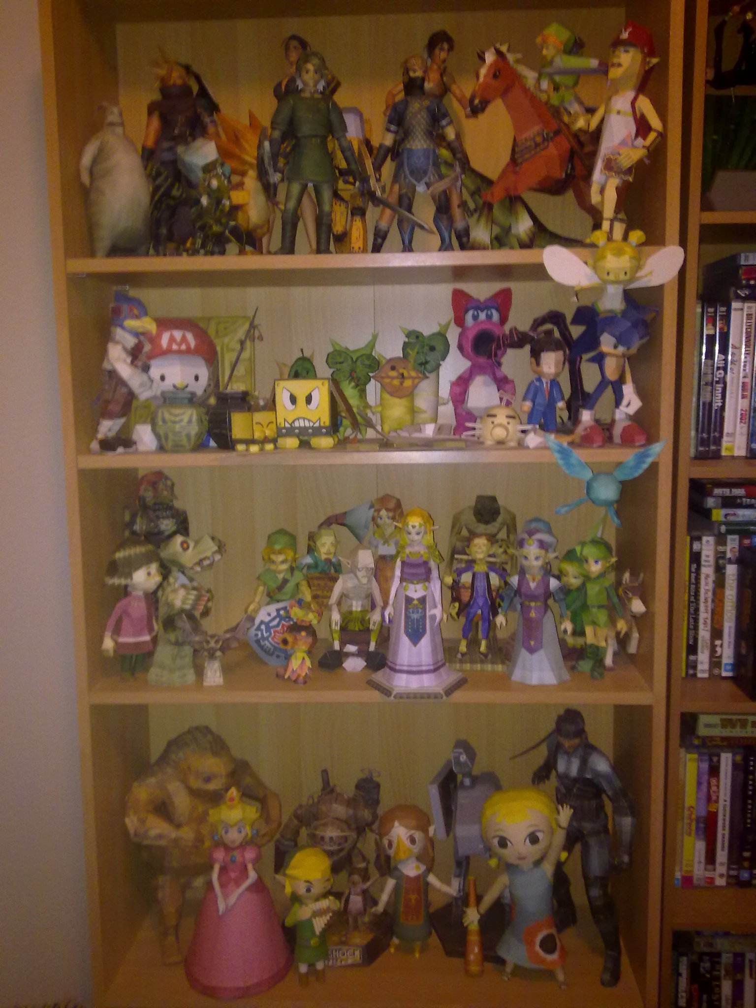 My Shelf of Papercrafts by bratchny