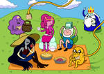 Adventure Time - Picnic Time