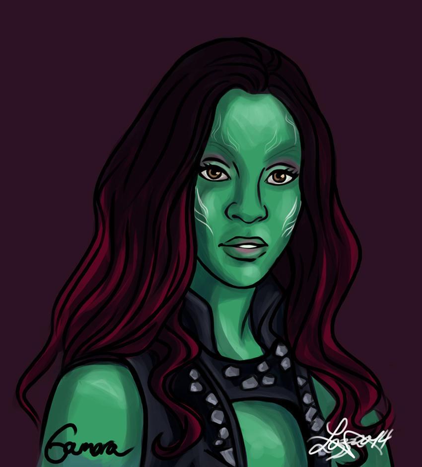 Gamora - Guardians of the Galaxy by bratchny