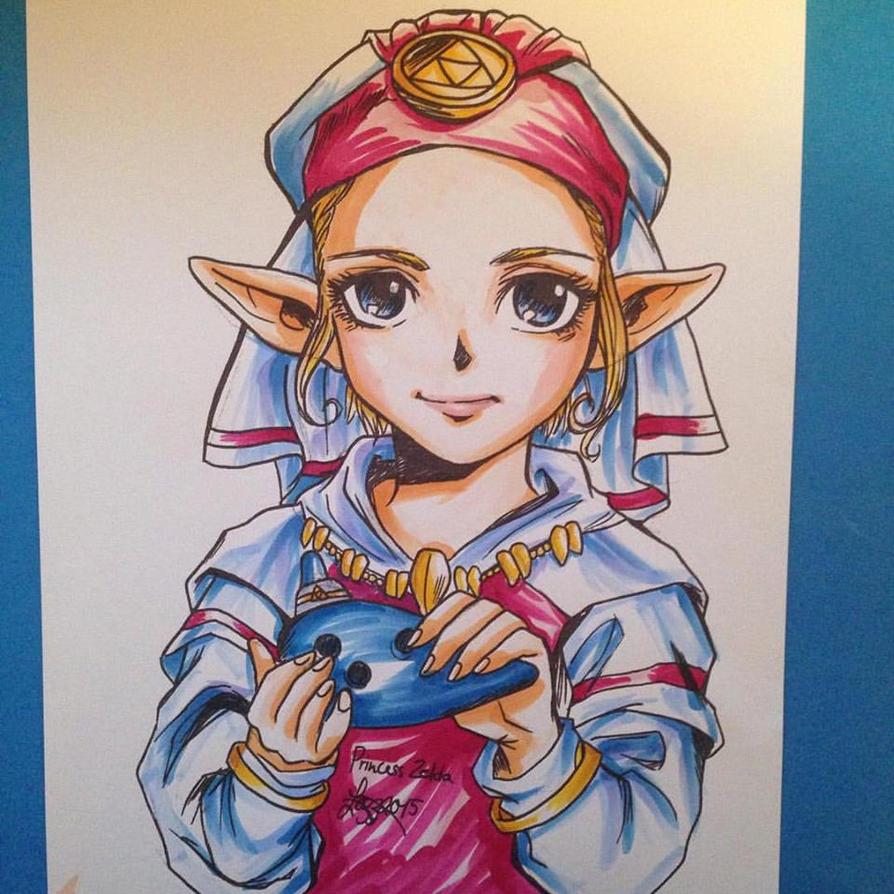 Young Princess Zelda - Ocarina of Time by bratchny