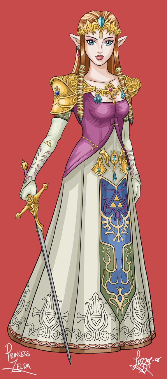 Princess Zelda by bratchny