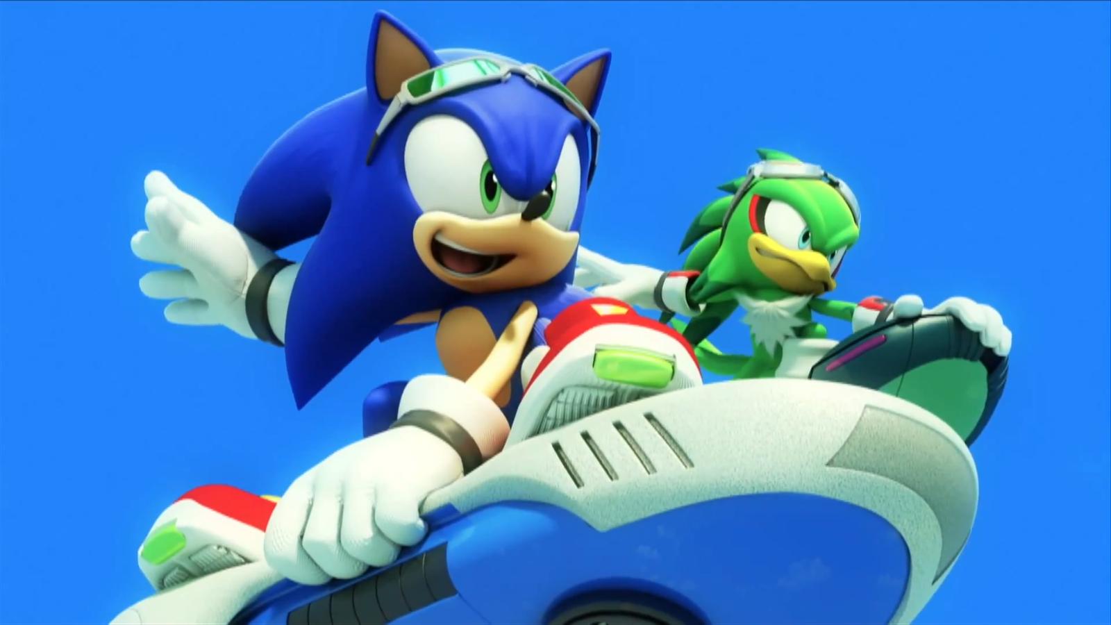 Sonic Riders Музыку