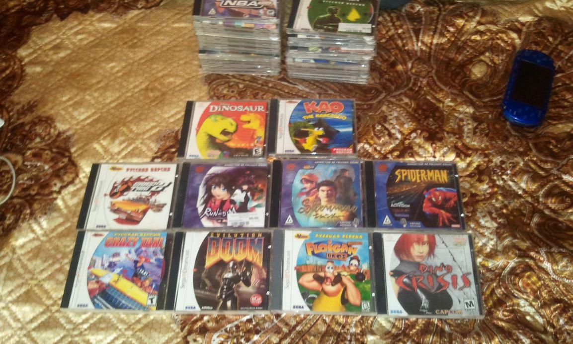 Sega dreamcast games games
