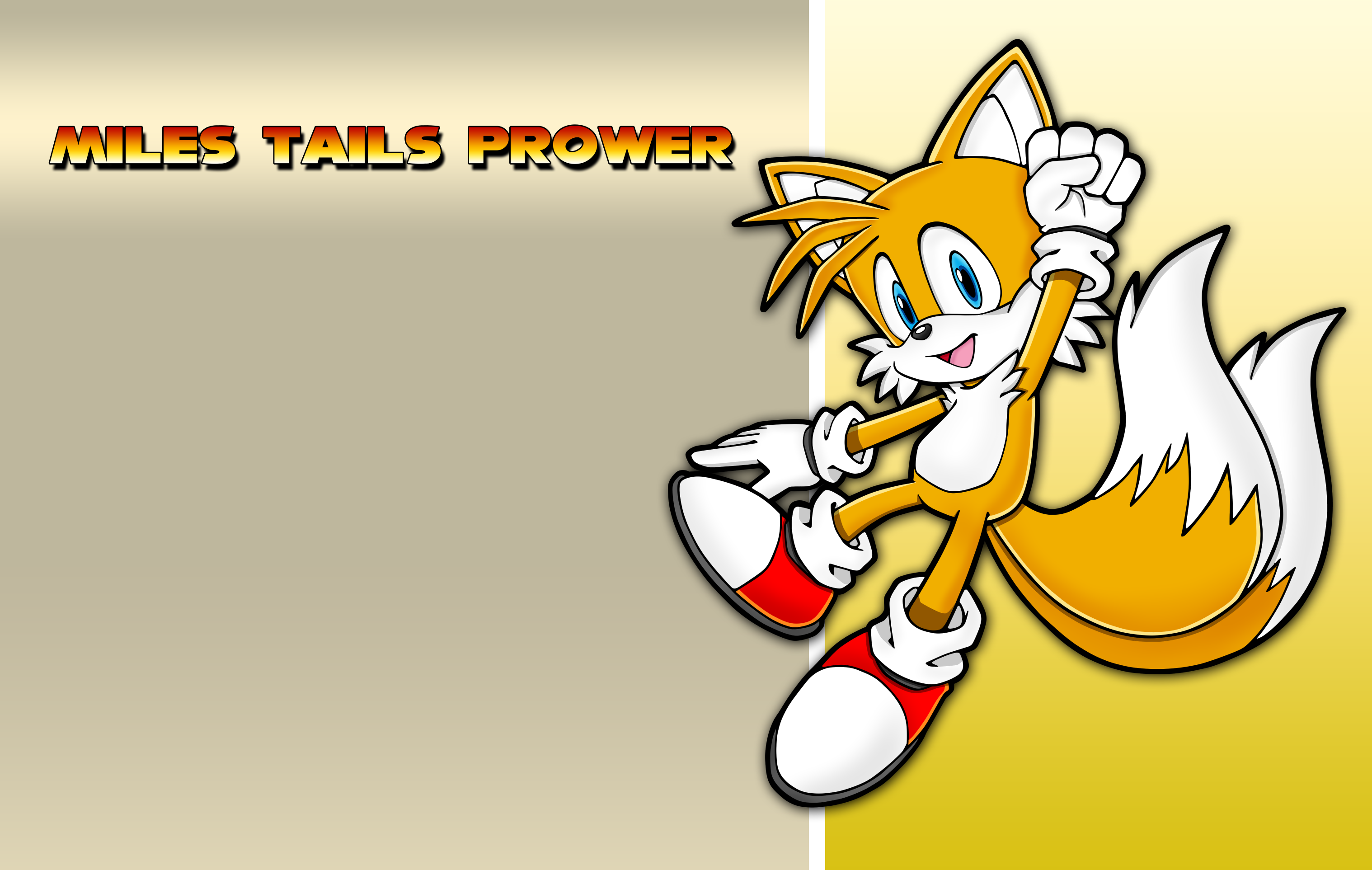 Miles Tails Prower wallpaper 3