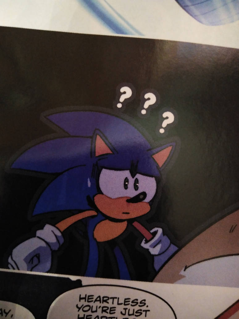 Idw Sonic The Hedgehog Comic Issue 13 By Hinata70756 On Deviantart