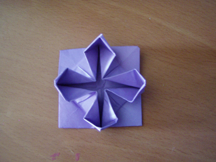 Origami water lily by BloodyBlueRoses on deviantART - photo#13