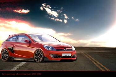 opel astra concept 2009