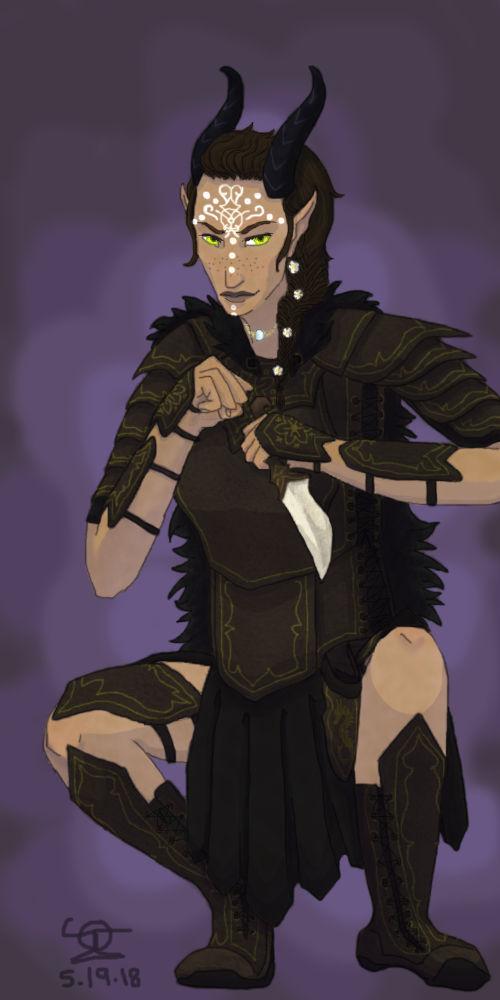 Elven Druid Character (Request)