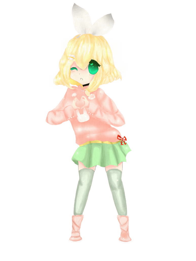 Rin Kagamine Outfit Kagamine Rin Outfit my