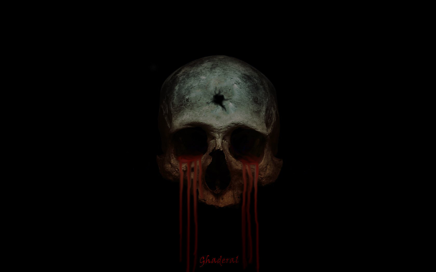 bloody skull wallpaper related - photo #38