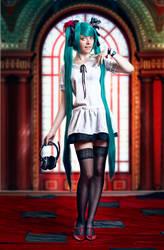 Hatsune Miku (World is mine) cosplay Ytka Matilda