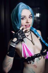 GET JINXED cosplay by Ytka Matilda by YtkaMatilda
