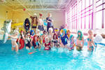 Pool Party Project cosplay