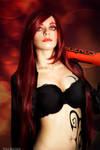 Katarina makeup cosplay by Ytka Matilda