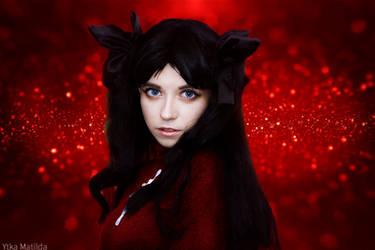 Rin Tohsaka cosplay by Ytka Matilda