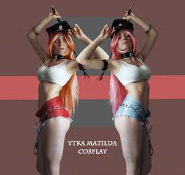 Roxy and Poison cosplay by Ytka Matilda by YtkaMatilda