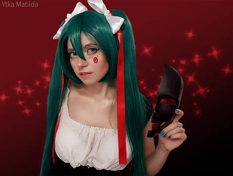 Hatsune Miku(Crazy Clowns)cosplay by Ytka Matilda
