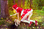 Little Red Riding Hood Annie cosplay Ytka Matilda